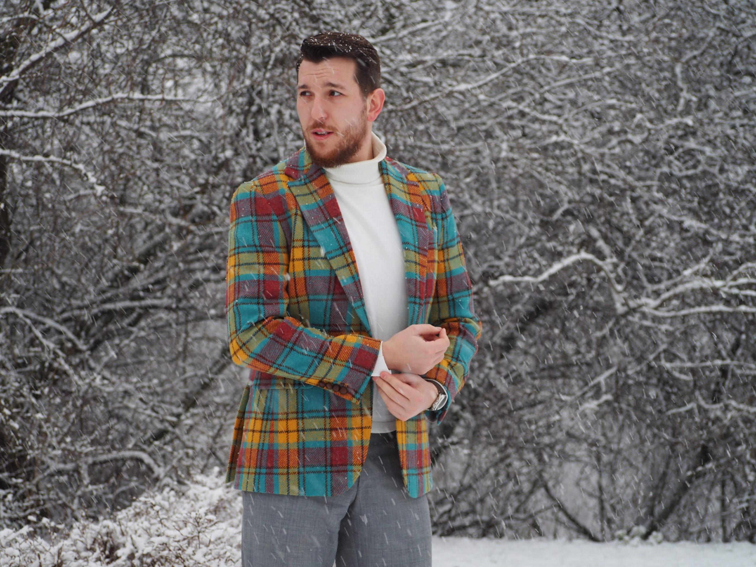 Harris Tweed w nowoczesnym wydaniu